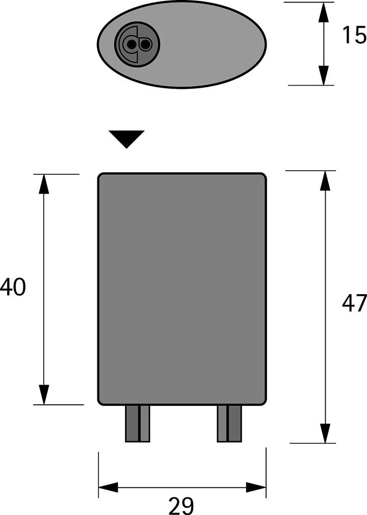 Verteiler 2+6 fach HALEMEIER MP 24 V