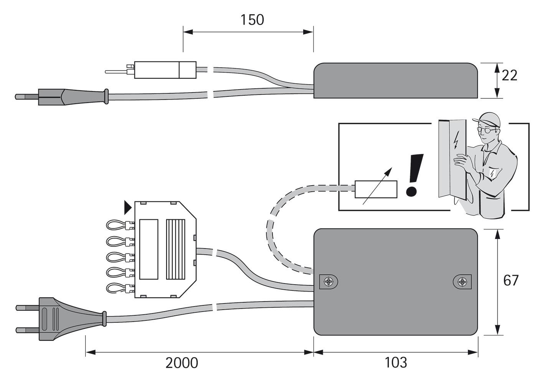 Transformatoren HALEMEIER 700 mA Schnittstelle 1 - 10 V