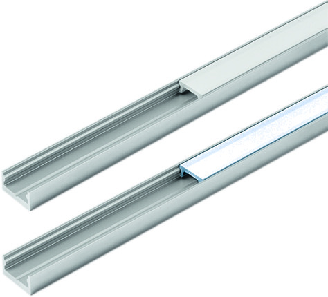 LED Ein-/Anbauprofile HALEMEIER ChannelLine I mit Lichtblende