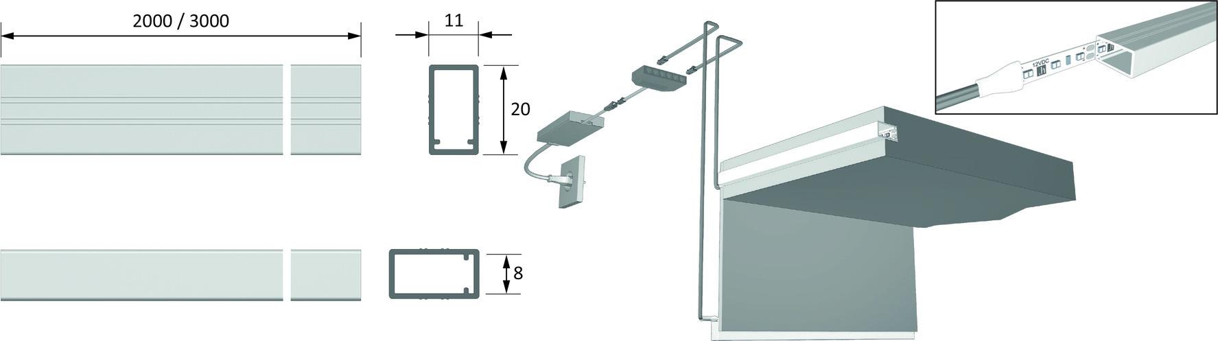 LED Einbauprofile HALEMEIER ChannelLine K
