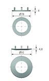 Abdeckringe HALEMEIER HV DownLite 230 V
