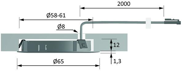 LED Ein-/Anbauleuchten HALEMEIER EcoPower Flood 12 V