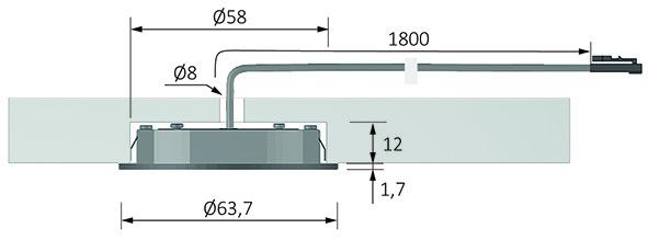 LED Ein-/Anbauleuchten HALEMEIER Eco Spot 12 V