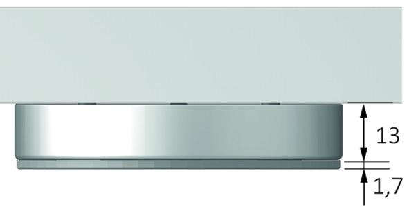 Anbaugehäuse HALEMEIER zu LED Ein-/Anbauleuchten Eco Spot
