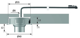LED Einbauleuchten HALEMEIER SuperDot 12 V