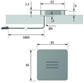 LED Anbauleuchten HALEMEIER PanelLite square 12 V