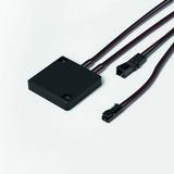 Aufbauschalter HALEMEIER BasicControl MultiWhite 12 V