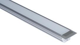 LED Einbauprofile L&S Manila IV 22/1.8 mm ohne Lichtblende