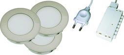 LED-Einbauleuchten-Set Jupiter HV 230 V