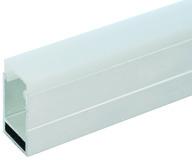 LED Anbauprofile L&S Vienna 30/16 mm mit Lichtblende