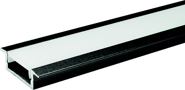 LED Einbauprofile L&S London ohne Lichtblende