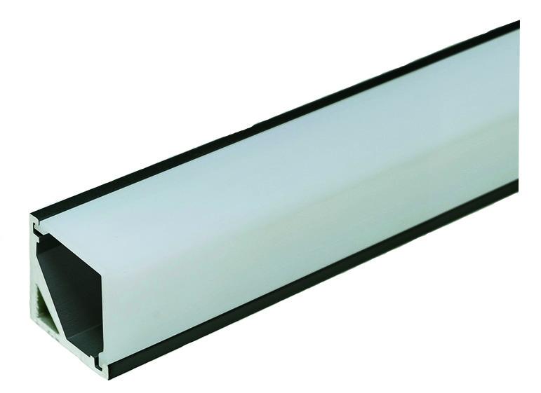 LED Anbauprofile L&S Quattro Mini mit Lichtblende