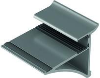 Glastablarhalter Wall System