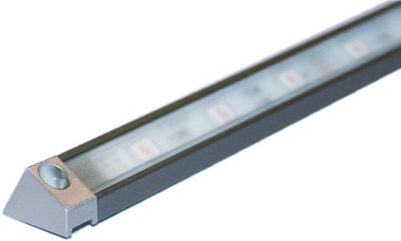 LED Anbauprofile L&S Derby II mit Lichtblende