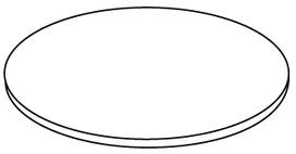 Schutzglas zu LED Deckeneinbau-Leuchtenset Ridl 8