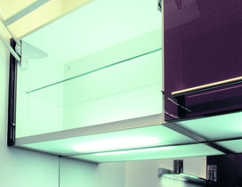 Lichtböden zur Regalbodenmontage 230 V