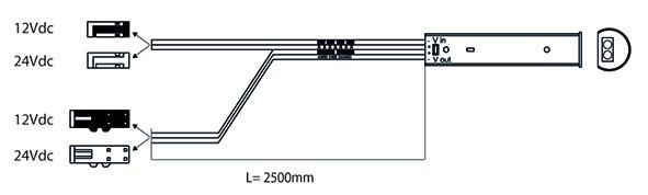 IR-Sensorschalter L&S MultiSwitch 12 / 24 V