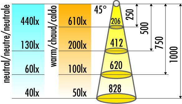 LED Anbauleuchten HALEMEIER LuckyLine 12 V