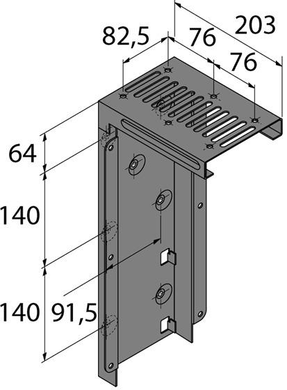 PC-Halter HETTICH Lock