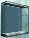 Schiebetürbeschläge PAULI+SOHN Modell 2200, Inslide für Glasvitrinen