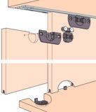 Schiebetürbeschläge EKU-CLIPO 16 H, Inslide / Mixslide