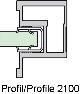 Schiebebeschläge ALPHA 2000/2100/2400/2500