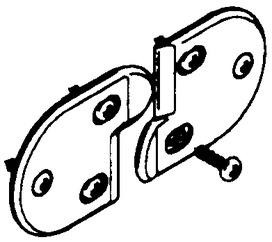 Türenbündighalter HAWA Multifold 30 / 30/W