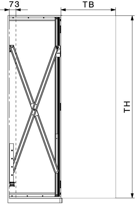 Drehschiebetürbeschläge HAWA-Concepta 25/30/40/50