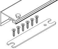 Verbindungsprofil Connector Breite 55 mm, HAWA-Concepta