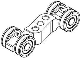 Laufwerkroller HAWA