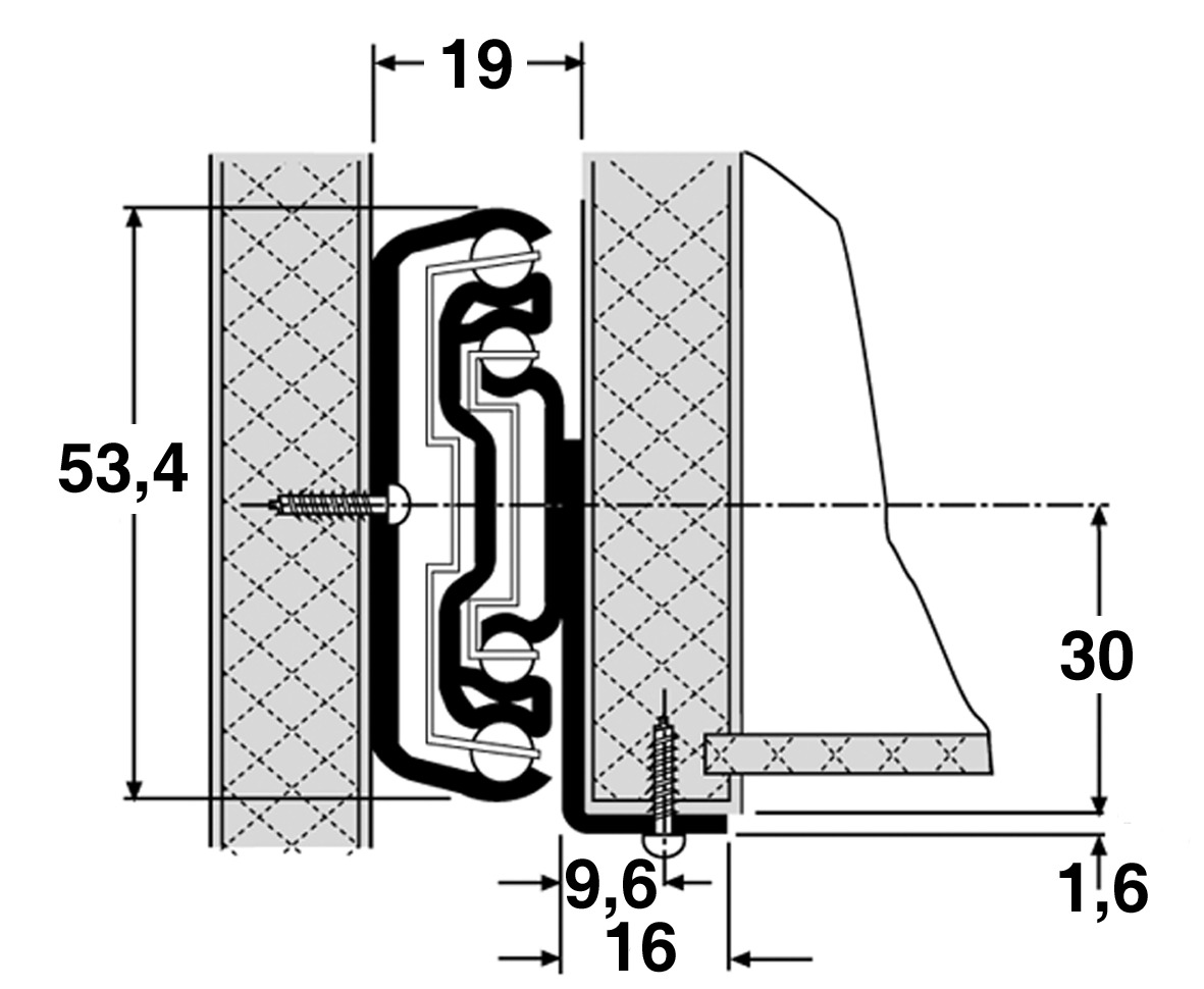Kugel-Überauszug ACCURIDE 5517-60