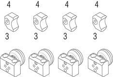 Bestückungs-Set Einfachauszug FULTERER 9200