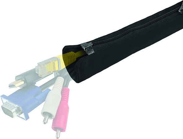 Kabelkanal STAYWIRED PRO Flex, Textil