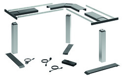 Tischgestell-Set 90°-Winkel LegaDrive