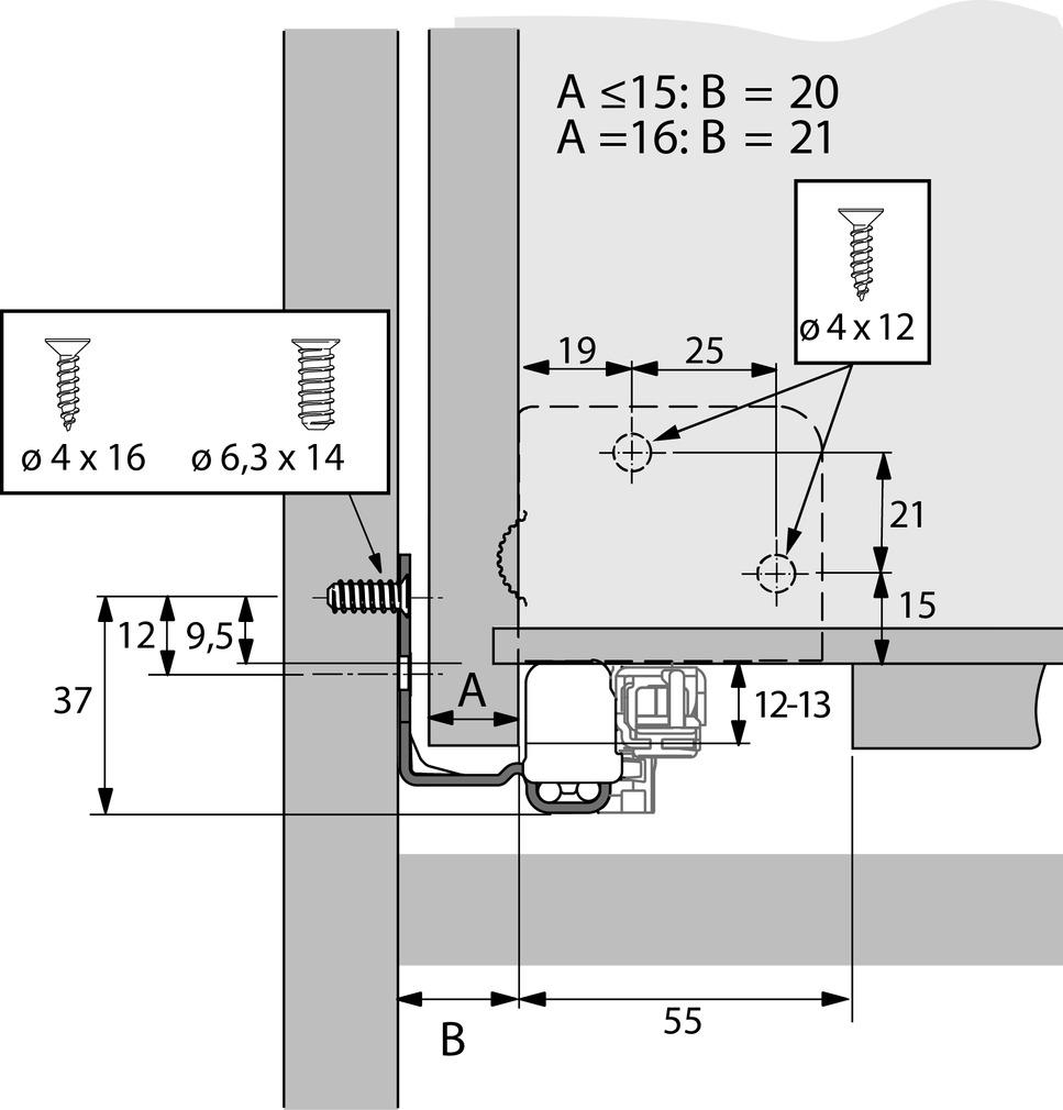 Vollauszug HETTICH Quadro V6 4D Silent System