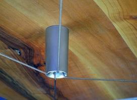 Seilkreuzspanner für Tischplatten
