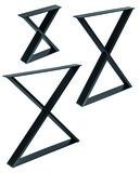 Tisch- und Bankkufen Kreuz