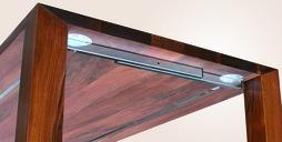 Schwenkauszüge für Tischplatten