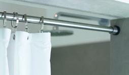 Garderobenstange für Nische PHOS TKS20-1