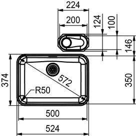 Unterbauspülen FRANKE Largo LAX 110 50 (35) / 110 10