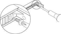 Traversen-Fixierschrauben für Verstärkungstraverse
