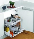 Allzweck-Vollauszug PEKA Kitchen Tower Typ 450 / 600 für scharnierte Türen