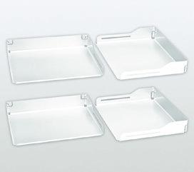 Einhängetablar-Set PEKA Libell 550/600