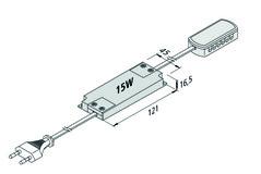 LED Transformator 24 V / 15 W