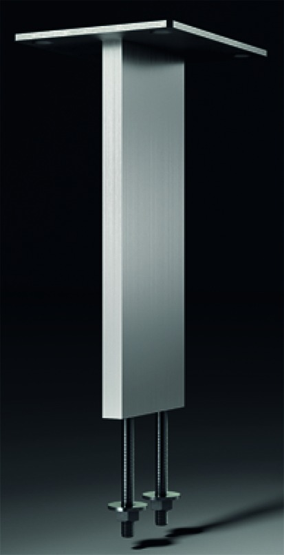 Barkonsolen Korfu eckig 60/10 mm, gerade