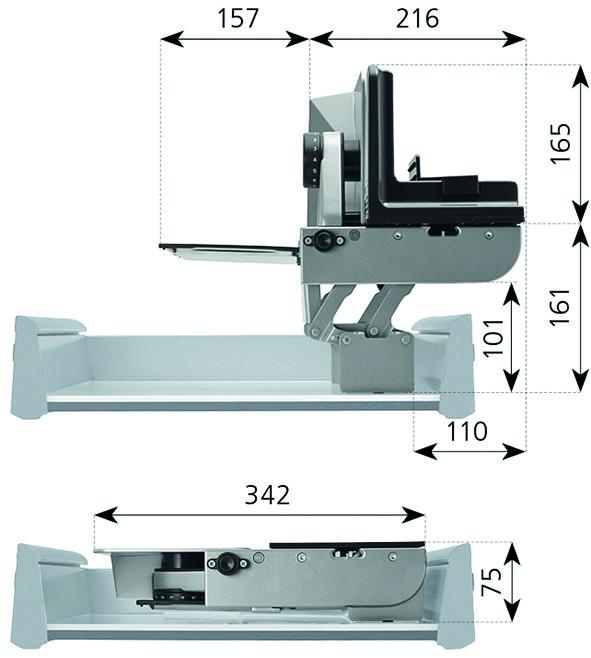 Einbau-Allesschneider RITTER AES 72 SR/-H