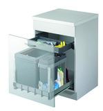 Kehricht-Auszugsystem MÜLLEX BOXX55/60-R Bio