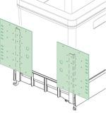 Kassettentürbeschlag 2-tlg. BOXX 40/City
