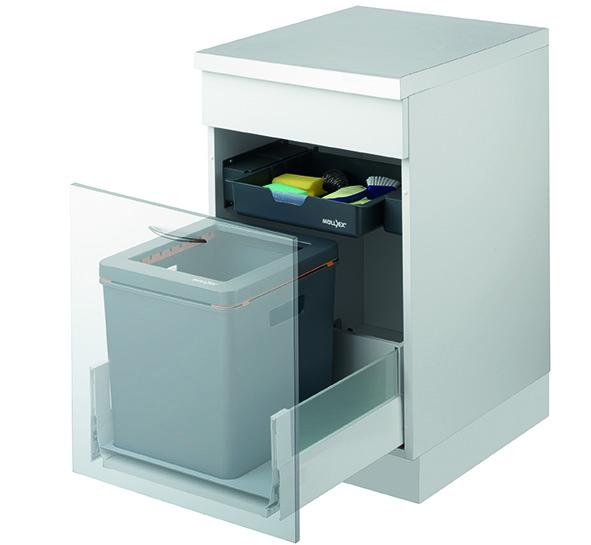 Kehrichtsystem MÜLLEX ZK-BOXX45/50 für Hettich ArciTech