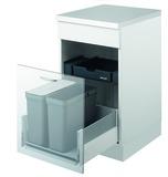 Kehrichtsystem MÜLLEX ZK-TRIOXX 2 x 16, 40/45/50 für BLUM Tandembox